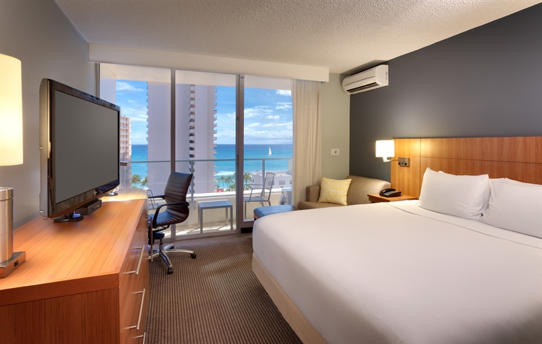 Honolulu Standard and ADA Accessible Hotel Rooms on Waikiki Beach