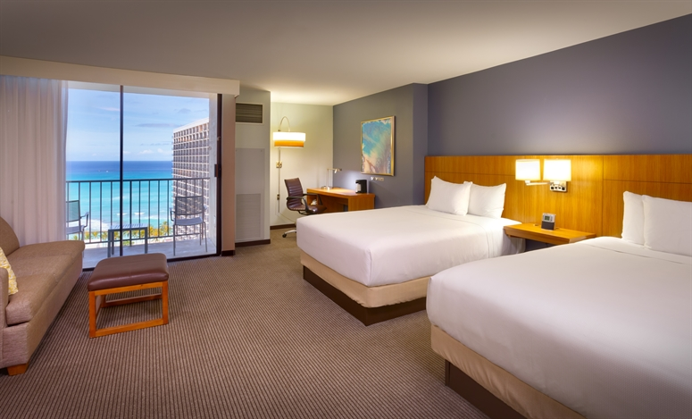 Hotel Rooms Waikiki Beach