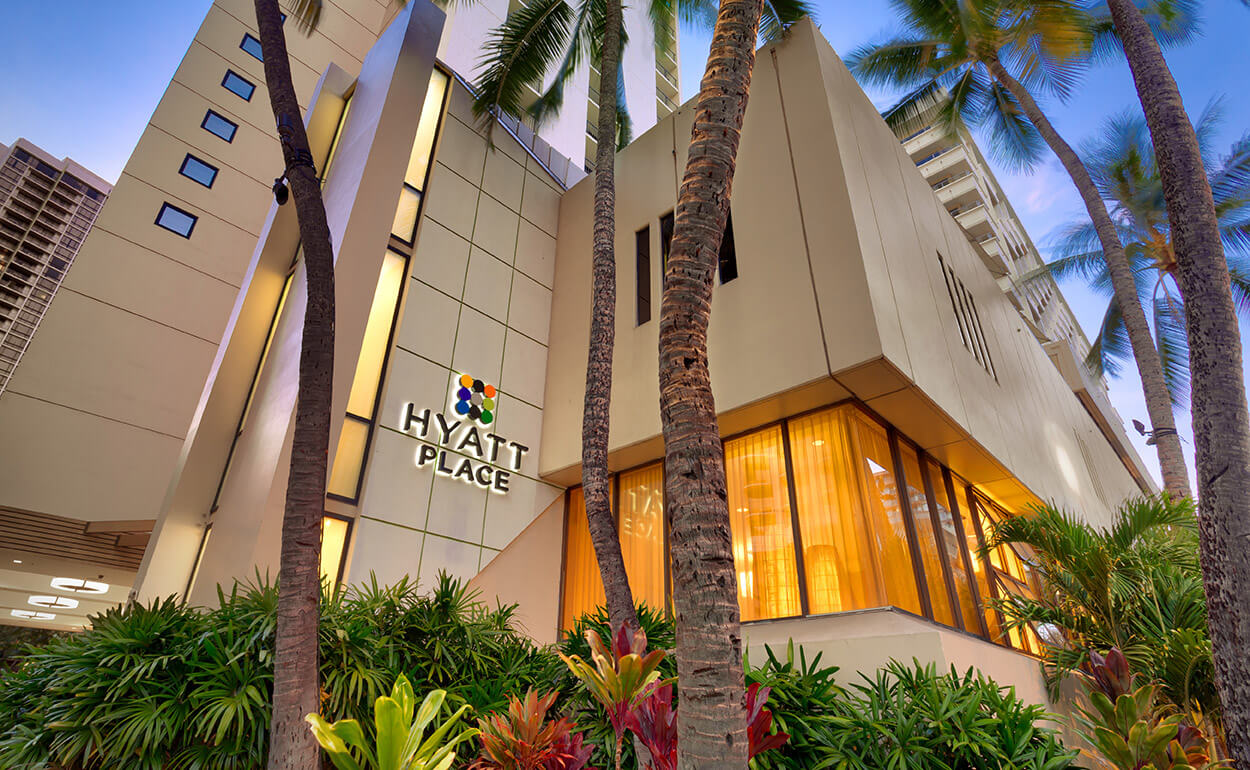 Exterior of Hyatt Place Waikiki Beach
