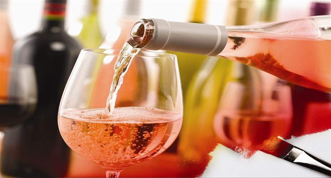 Wine being served
